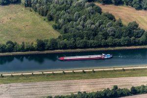 Dortmund–Ems Canal, Ladbergen, North Rhine-Westphalia, Germany